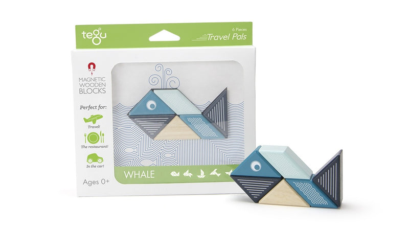 Tegu Whale Travel Pal