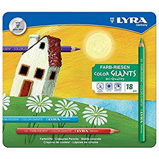 Lyra Coloring Pencils (18 Assorted Colors)