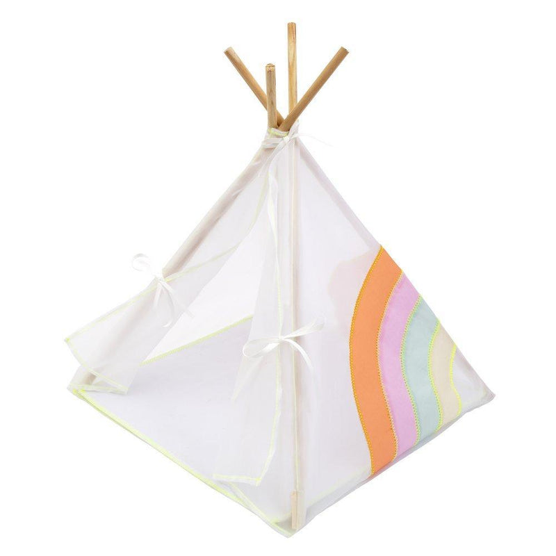 Rainbow Doll Tipi