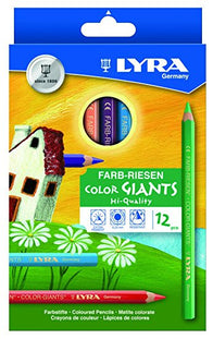 Lyra Coloring Pencils (12 Assorted Colors)