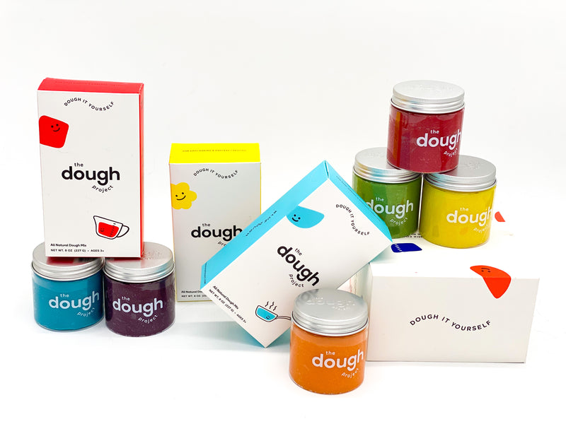 The Dough Project 6 Pack of Dough + DIY Mix Combo
