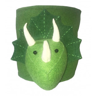 Fiona Walker Felt Triceratops Storage Bag