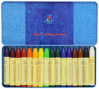 Stockmar Wax Stick Crayons (16 Piece)