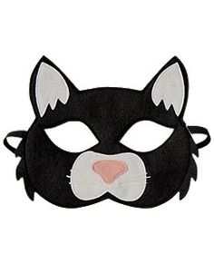 Opposite of Far Black Cat Mask
