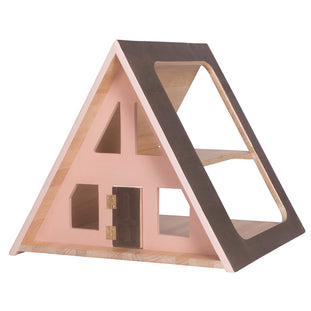 Such Great Heights A-Frame Dolls House (Peach)