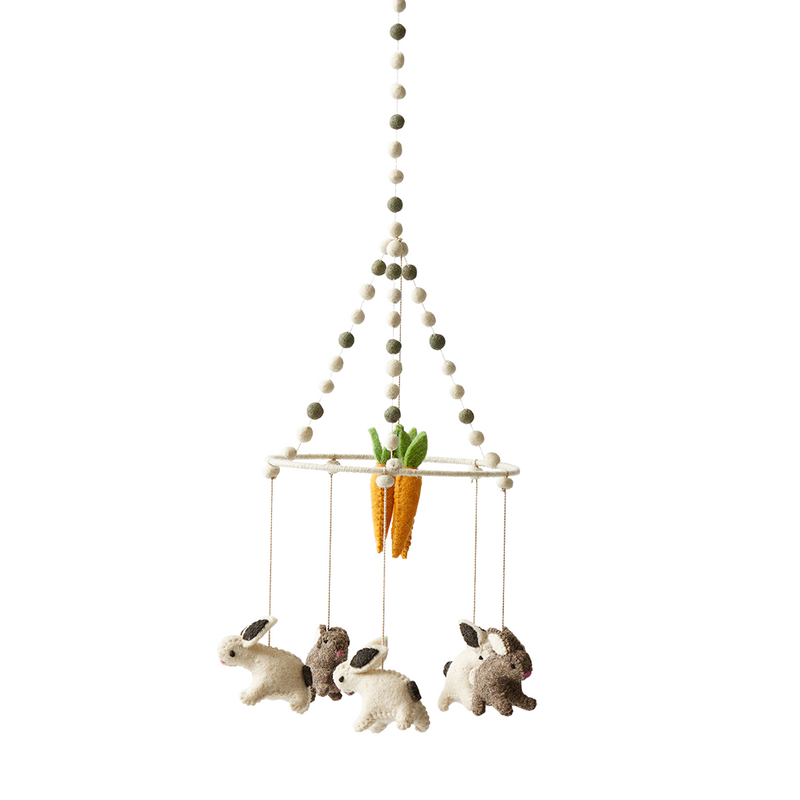 Pehr Designs Tiny Bunny Mobile