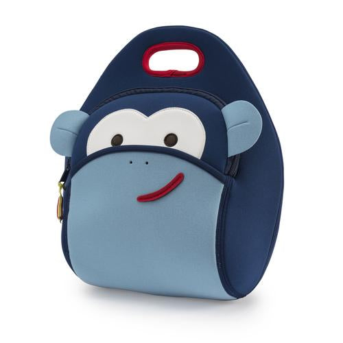 Dabbawalla Blue Monkey Lunch Bag