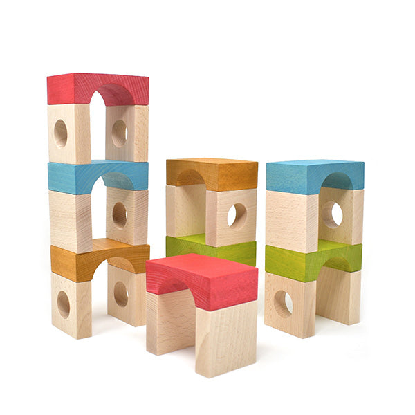 Lubulona Fontana Tunnel Blocks Deluxe Set