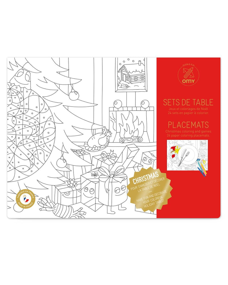 Christmas Coloring Placemats