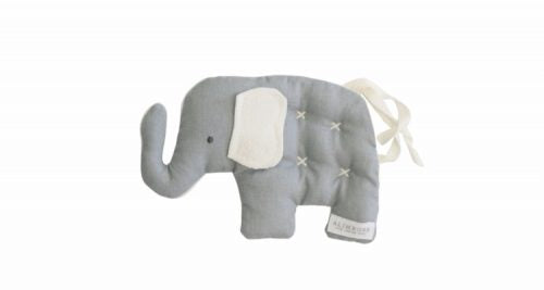 Alimrose Toby Elephant Comfort Toy in Grey