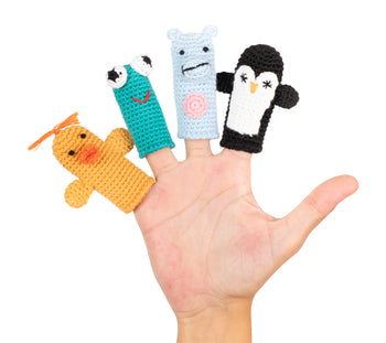 Cuddoll The Splashers Finger Puppets