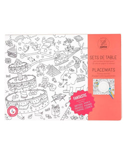 OMY Fantasy Coloring Placemats