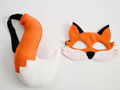 Opposite of Far Fox Mask & Tail