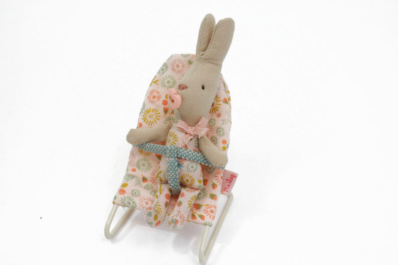 Maileg Custom Babysitter and Baby Bunny Bundle