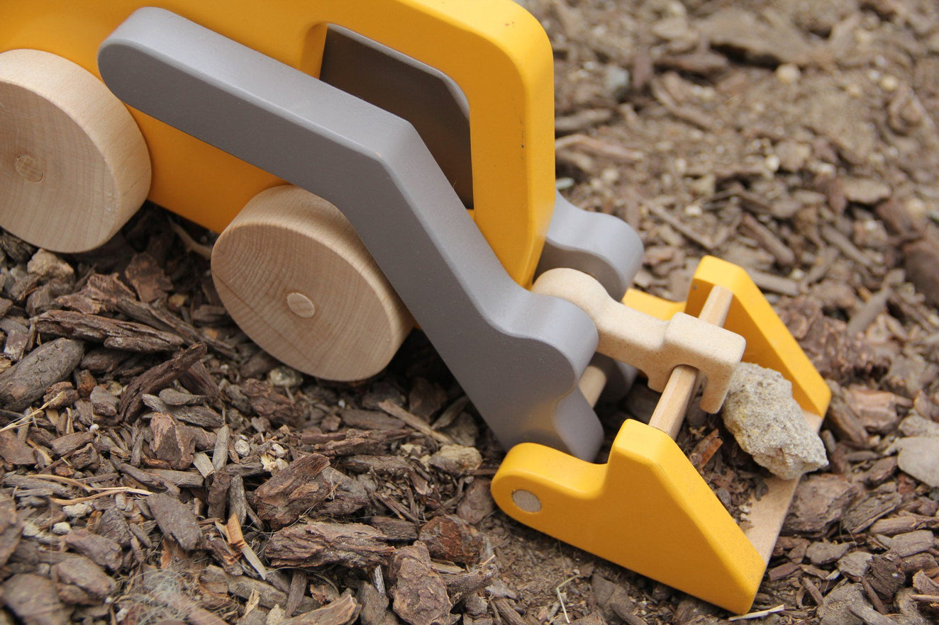 Loader Truck Push Toy