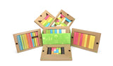 Tegu Magnetic Blocks Classroom Set (130 pieces)