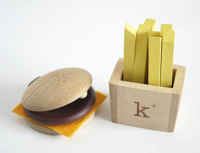 Kukkia Hamburger & Fries Instrument Set