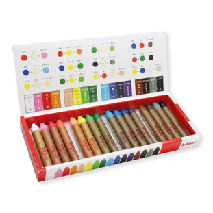 Kitpas 16 Piece Art Crayon Set