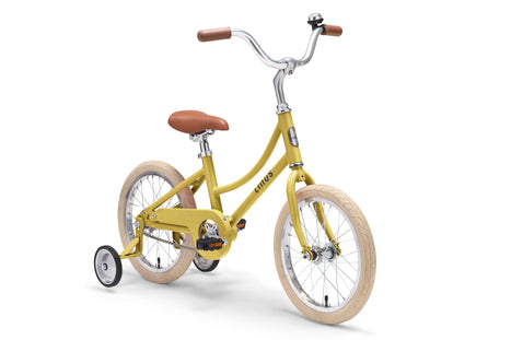 "Linus Lil Dutchi 16"" Bike with Training Wheels in Matte Gold"