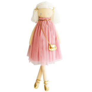 Alimrose Lizzie Doll in Blush