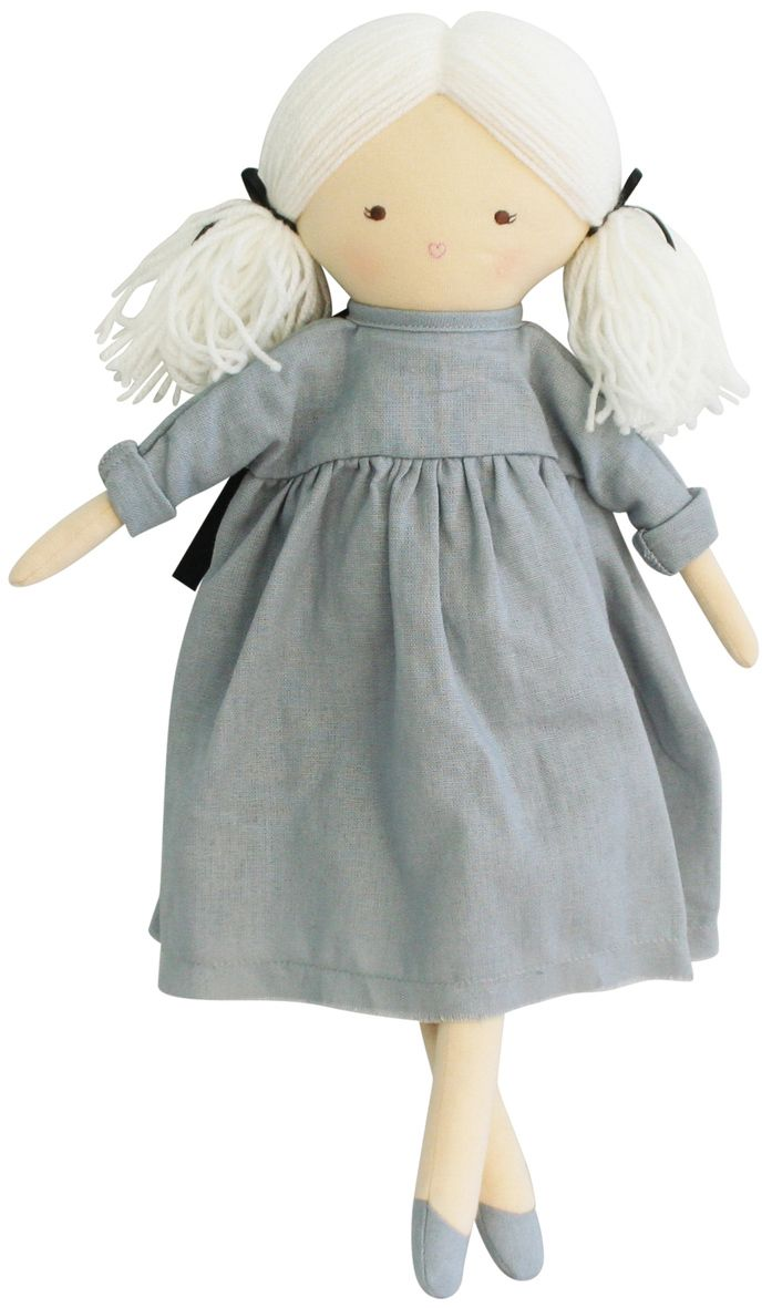 Alimrose Matilda Doll in Grey