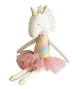 Alimrose Yvette Rainbow Unicorn Doll