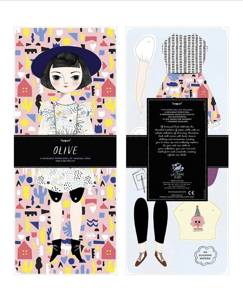 Olive Paper Doll