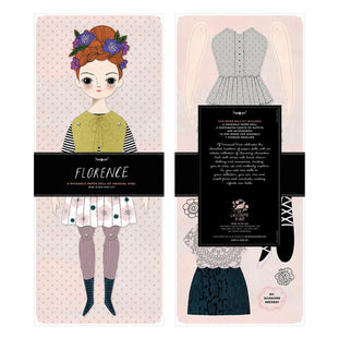 Of Unusual Kind Florence Paper Doll