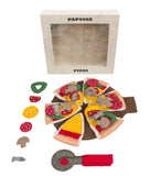 Papoose Felt Pizza and Server