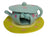 Papoose Felt Teacup House and Mat