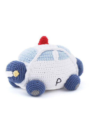 The Little Market Police Car Rattle