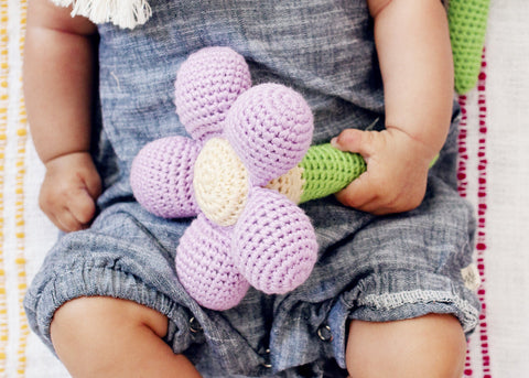 Flower Rattle Set