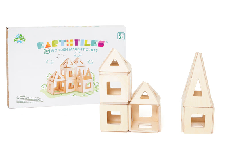 Big Future Toys Eco-Friendly Magnetic Tiles
