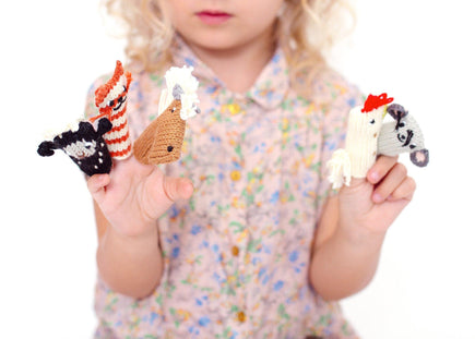 Bla Bla Farm Animals Finger Puppet Set
