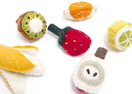Felt 6-piece Fruit Box Set