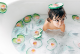 Oli & Carol Water Lily Natural Bath Toy