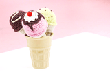 Ice Cream Cone Rattle Set