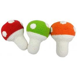 Toadstool Rattle Set