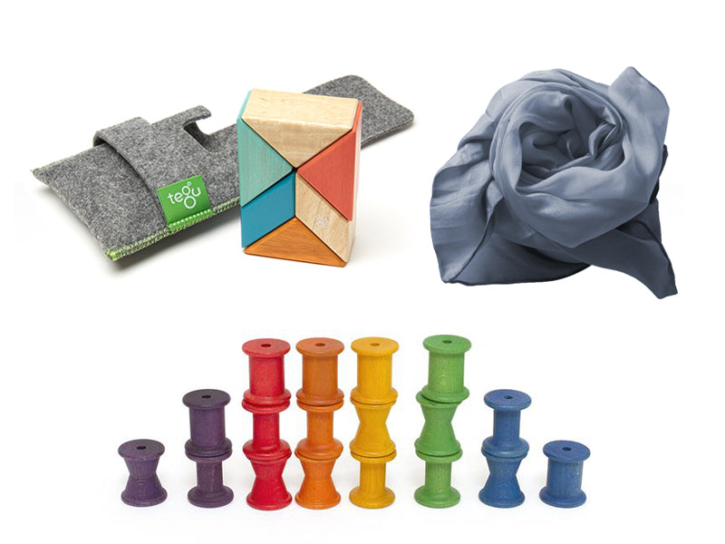 Rose & Rex Open-Ended Play Toddler Bundle