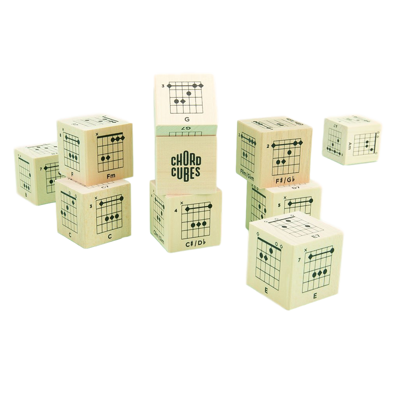 Uncle Goose Chord Cubes Blocks