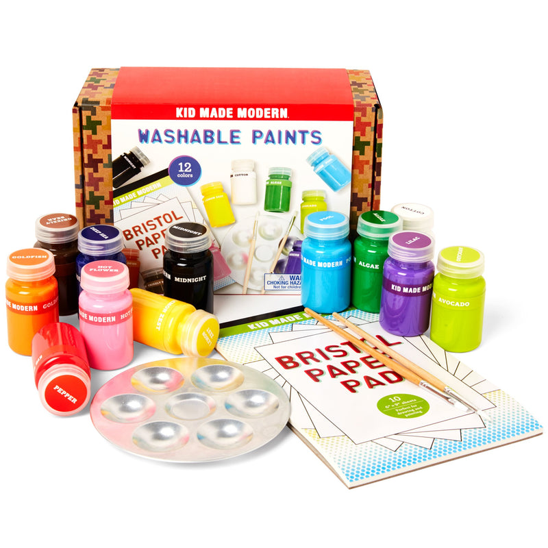 Kid Made Modern Washable Paint Set (Set of 12)