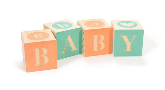 Handcrafted Baby Blocks
