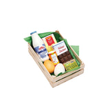 Erzi Baking Ingredients Wooden Food Set