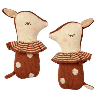 Maileg Bambi Rattle in Rusty