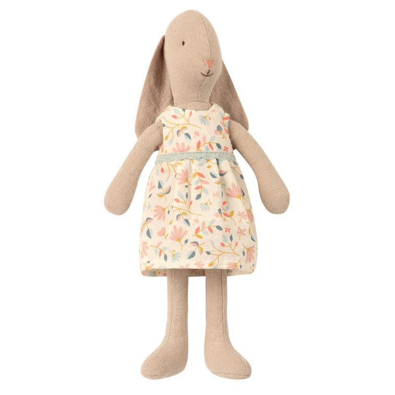 Maileg Bunny in Flower Dress (Size 1)