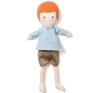Hazel Village Charlie Doll in Gingham Shirt