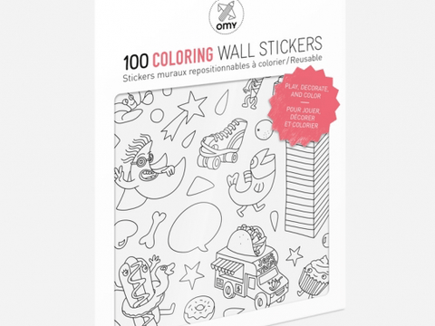 Coloring Removable Stickers