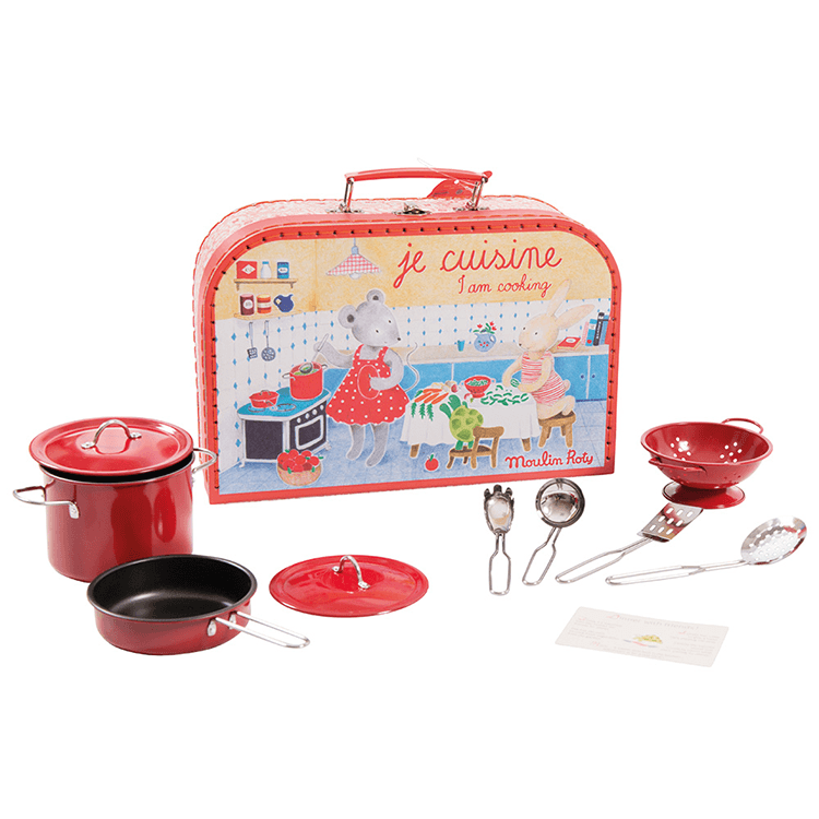 Moulin Roty Pretend Cooking Set