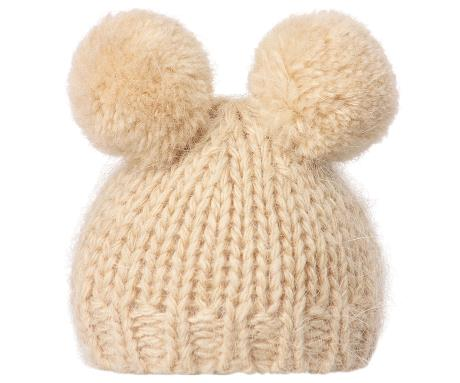 Maileg Best Friends Knitted Pom Pom Hat – Rose   Rex 47837ebeffe