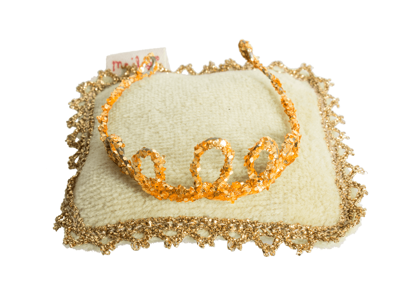 Mini Gold Crown & Pillow